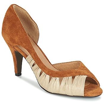 Pantofi Femei Pantofi cu toc André PUNGI Camel
