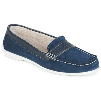 Pantofi Femei Mocasini André FRIOULA Bleumarin