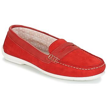 Pantofi Femei Mocasini André FRIOULA Roșu