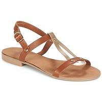 Pantofi Femei Sandale și Sandale cu talpă  joasă André TOUFOU Camel
