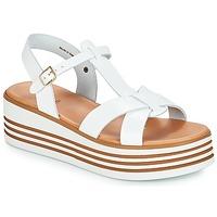 Pantofi Femei Sandale și Sandale cu talpă  joasă André LUANA Alb