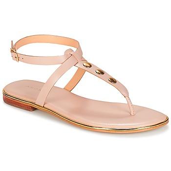 Pantofi Femei Sandale și Sandale cu talpă  joasă André CHARLENE Nude