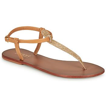 Pantofi Femei Sandale  André GLITTER Camel