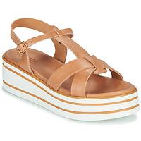 Pantofi Femei Sandale și Sandale cu talpă  joasă André LUANA Camel