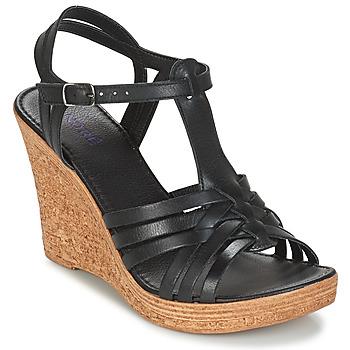 Pantofi Femei Sandale și Sandale cu talpă  joasă André FABULEUSE Negru