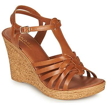 Pantofi Femei Sandale  André FABULEUSE Camel