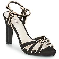 Încăltăminte Femei Sandale și Sandale cu talpă  joasă André ARPEGE Negru