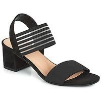 Pantofi Femei Sandale și Sandale cu talpă  joasă André CORFOU Negru