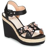 Pantofi Femei Sandale și Sandale cu talpă  joasă André IXIA Negru