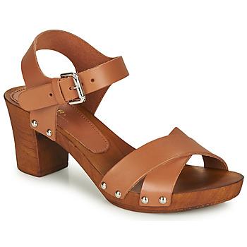 Pantofi Femei Sandale și Sandale cu talpă  joasă André BONGO Maro