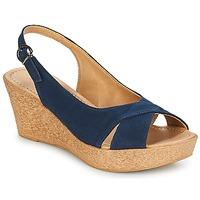 Pantofi Femei Sandale și Sandale cu talpă  joasă André DESTINY Bleumarin