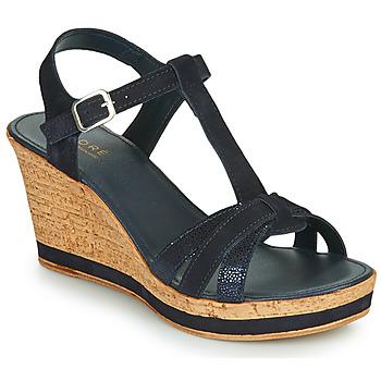 Pantofi Femei Sandale și Sandale cu talpă  joasă André ALOE Bleumarin