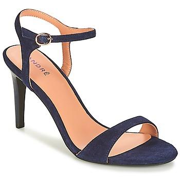 Pantofi Femei Sandale și Sandale cu talpă  joasă André SAXO Bleumarin