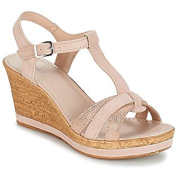 Pantofi Femei Sandale și Sandale cu talpă  joasă André ALOE Nude