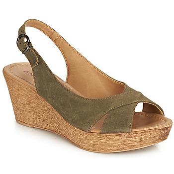 Pantofi Femei Sandale și Sandale cu talpă  joasă André DESTINY Kaki