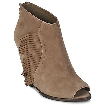 Pantofi Femei Botine Ash LYNX Taupe