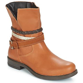 Pantofi Fete Ghete Citrouille et Compagnie FURAMO Camel
