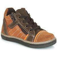 Pantofi Băieți Pantofi sport stil gheata Citrouille et Compagnie JESSICA Camel