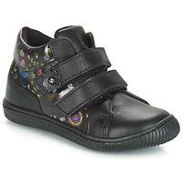 Pantofi Fete Pantofi sport Casual Citrouille et Compagnie JUPETTE Negru / Flori