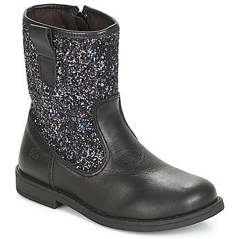 Pantofi Fete Cizme casual Citrouille et Compagnie JUCKER Negru