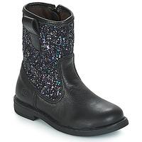 Pantofi Fete Ghete Citrouille et Compagnie JUCKER Negru / Paiete