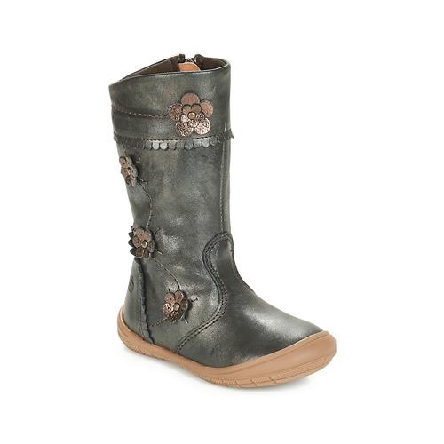 Pantofi Fete Cizme casual Citrouille et Compagnie JAMATIS Bronz