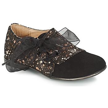 Pantofi Fete Pantofi Derby Citrouille et Compagnie JETTRA Negru / Bronz