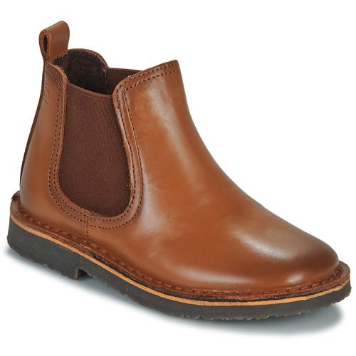 Pantofi Băieți Ghete Citrouille et Compagnie JOVETTE Camel