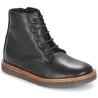 Pantofi Copii Ghete Citrouille et Compagnie JENKI Negru