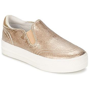 Pantofi Femei Pantofi Slip on Ash JUNGLE Auriu