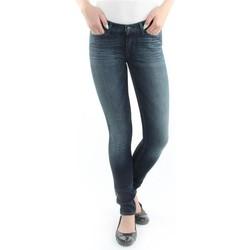 Îmbracaminte Femei Jeans skinny Wrangler Jeans  Jaclyn  Dark Lake W26DU468Y blue