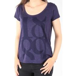 Îmbracaminte Femei Tricouri mânecă scurtă Lee T-Shirt  Scoop Mystic Plum 40KFL87 blue
