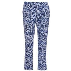Îmbracaminte Femei Pantaloni fluizi și Pantaloni harem See U Soon CLARA Albastru / Negru