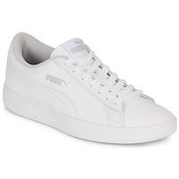 Pantofi Copii Pantofi sport Casual Puma SMASH V2 L JR Alb