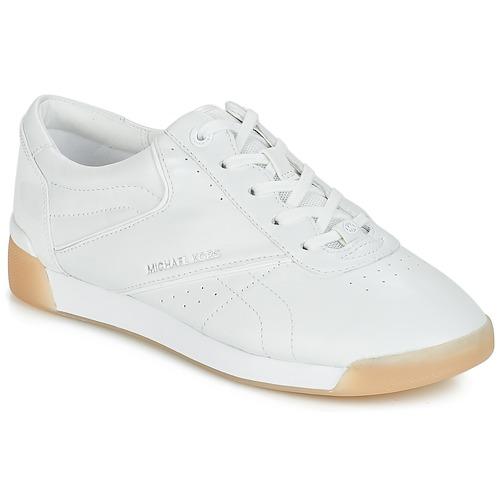 Pantofi Femei Pantofi sport Casual MICHAEL Michael Kors ADDIE LACE UP Alb
