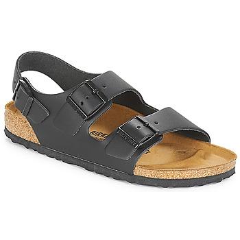 Încăltăminte Bărbați Sandale și Sandale cu talpă  joasă Birkenstock MILANO Negru