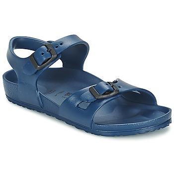 Pantofi Fete Sandale  Birkenstock RIO EVA Albastru