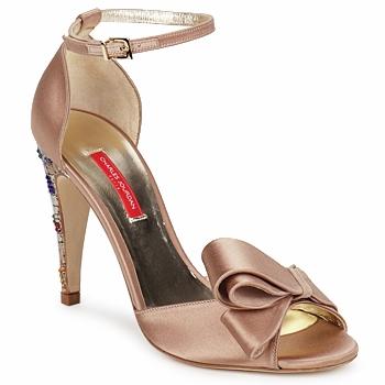 Pantofi Femei Sandale și Sandale cu talpă  joasă Charles Jourdan MANRAY Bej-nisip