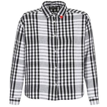 Îmbracaminte Femei Cămăși și Bluze Maison Scotch FRINDA Negru / Alb