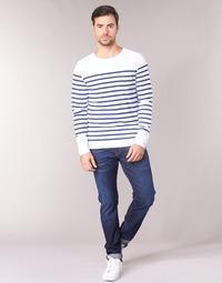 Îmbracaminte Bărbați Jeans drepti Scotch & Soda RALSTON Albastru / Culoare închisă