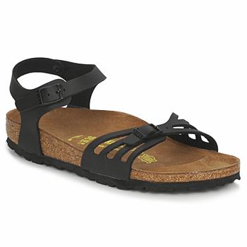 Încăltăminte Femei Sandale și Sandale cu talpă  joasă Birkenstock BALI Negru / Mat