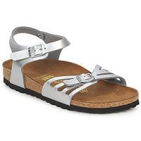 Pantofi Femei Sandale și Sandale cu talpă  joasă Birkenstock BALI Argintiu