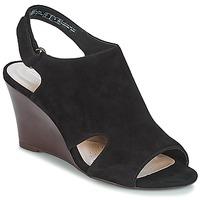 Pantofi Femei Sandale și Sandale cu talpă  joasă Clarks Raven Mist Black / Sde