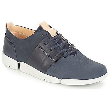 Încăltăminte Femei Pantofi sport Casual Clarks Tri Caitlin Navy / Combi