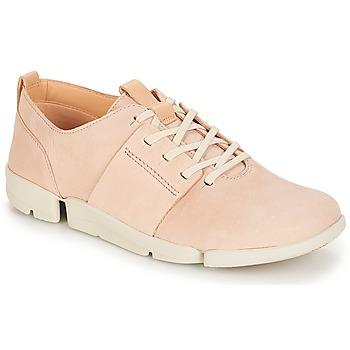 Încăltăminte Femei Pantofi sport Casual Clarks Tri Caitlin Nude / Pink