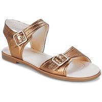 Pantofi Femei Sandale și Sandale cu talpă  joasă Clarks Bay Primrose Bronz / Metalic