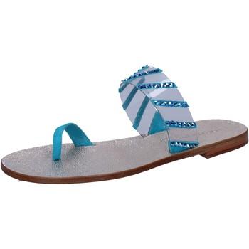 Pantofi Femei Sandale  Eddy Daniele Sandale AW487 Albastru