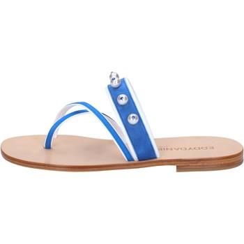 Pantofi Femei Sandale  Eddy Daniele Sandale AW06 Albastru