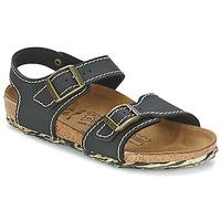 Pantofi Fete Sandale și Sandale cu talpă  joasă Birki's NEW YORK Neoprene / Black