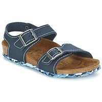 Încăltăminte Fete Sandale și Sandale cu talpă  joasă Birki's NEW YORK Neoprene / Blue